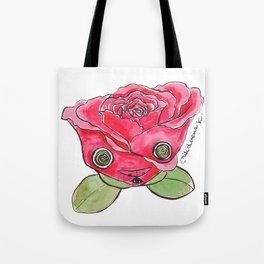 """Oro?"" Valentine's Rose Tote Bag"