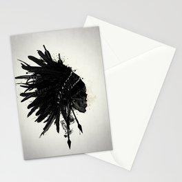 Warbonnet Skull Stationery Cards