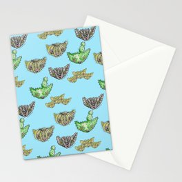 """""""Oro?"""" Cactus Blue Stationery Cards"""