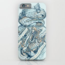 Life & Love at Sea iPhone Case