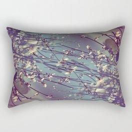 Flower Flip Rectangular Pillow