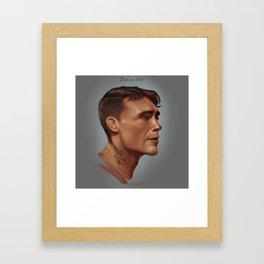 Darren Till Framed Art Print