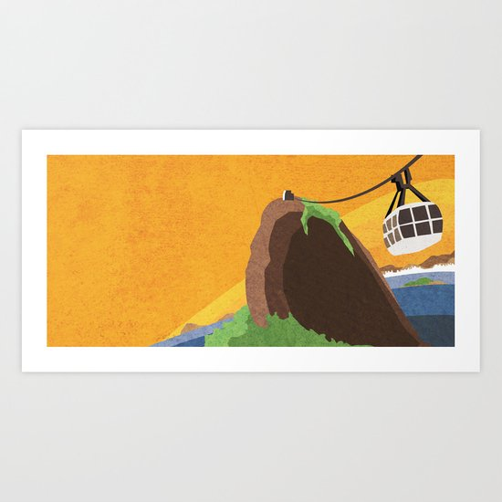 There's something about Rio Art Print