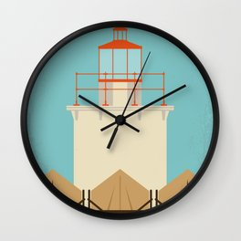 No760 My Moonrise Kingdom minimal movie poster Wall Clock