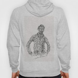 Tribute to Amadeo Modigliani by Tade Garben Hoody