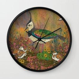 Lapwing Revival Wall Clock