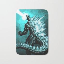 Godzilla Bath Mats Society6