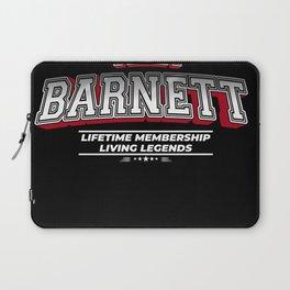 Team BARNETT Family Surname Last Name Member Laptop Sleeve