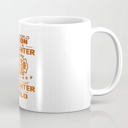 MY SON IS FIREFIGHTER Coffee Mug