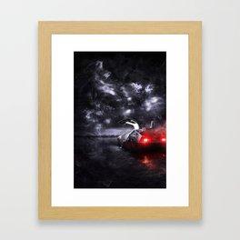 BTTF Framed Art Print