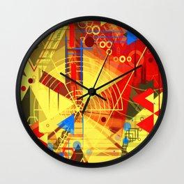 Heaven's On Fire  Wall Clock