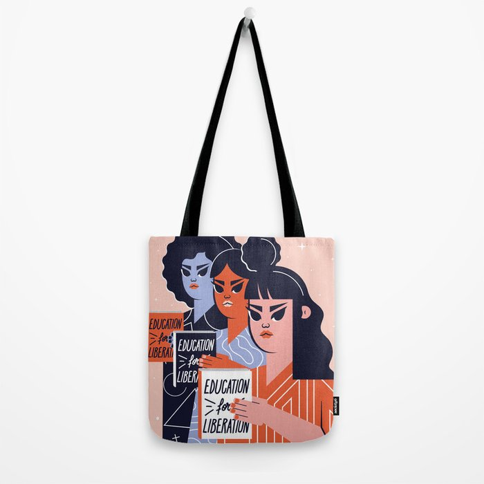 Education for Liberation Tote Bag