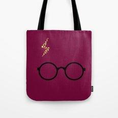 Harry - Purple Tote Bag