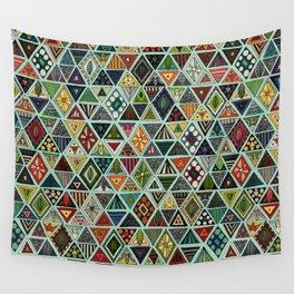 sun bear geo mint Wall Tapestry