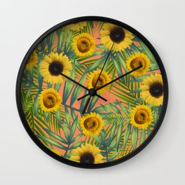 Sunlowres Party #1 Wall Clock