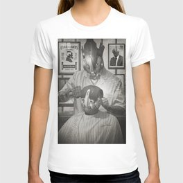 Cyber Barber T-shirt