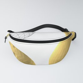 gold, skittles and ball Fanny Pack