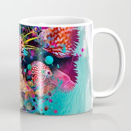 Surfing Palm Coffee Mug