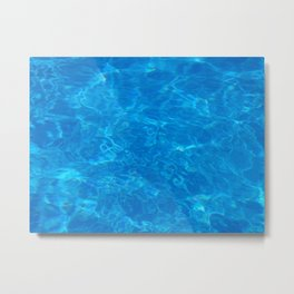 Pool Daze Metal Print