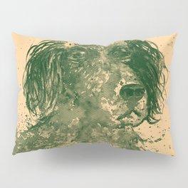 Hunter Dog pale Pillow Sham