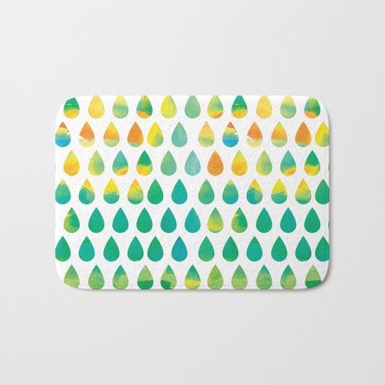 Monsoon Rain Bath Mat