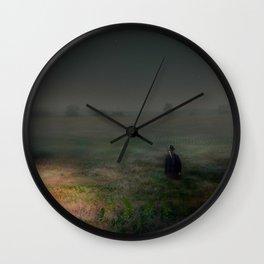 Forgotten Arrangements Wall Clock