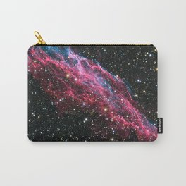 Pinkblue Nebula Carry-All Pouch