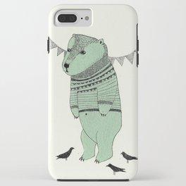 green bear iPhone Case