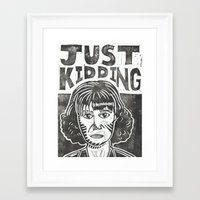snl Framed Art Prints featuring Judy Grimes by Peter Dunne