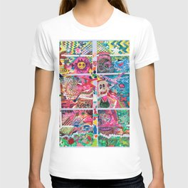 Subconsious Safari By Artist Jeff Parrott Psyexpression T-shirt