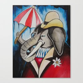 rainy days.  Canvas Print