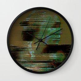 The departure of miyamoto musashi Wall Clock