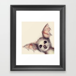 What the Fox? Framed Art Print