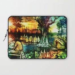 Growing up on the Bayou Laptop Sleeve