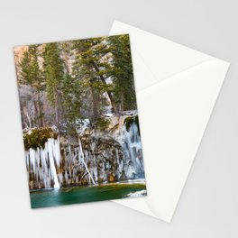 Hanging Lake Winter Stationery Cards