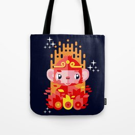 Fire Monkey Year Tote Bag