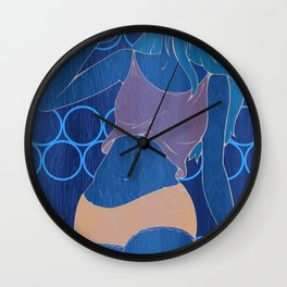 Sipping Beer Wall Clock