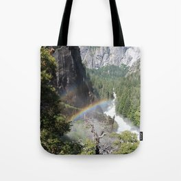 Rainbows by the Water Tote Bag