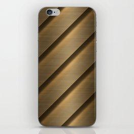 Copper Brass Metal Pipe iPhone Skin