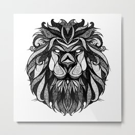 Signs of the Zodiac - Leo Metal Print