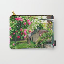 Flowers Blossoming on the Gate Carry-All Pouch