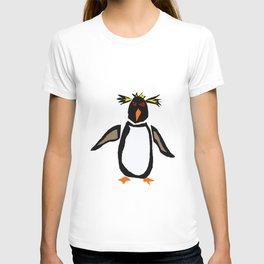 Funny Rockhopper Penguin Original Artwork T-shirt