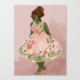 Summer Dress Canvas Print