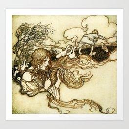 Arthur Rackham  -  Snowdrop And Other Tales Art Print