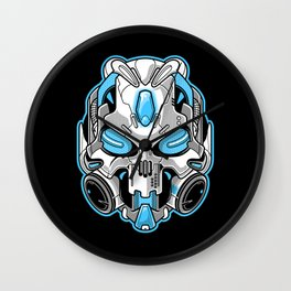 Cyberskull Wall Clock