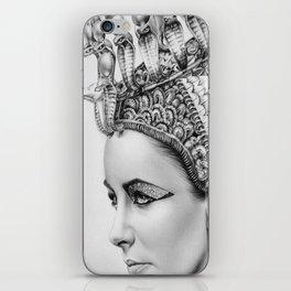 Elizabeth Taylor Cleopatra Portrait iPhone Skin