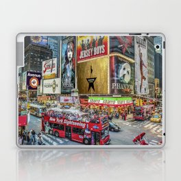 Times Square II Special Edition I Laptop & iPad Skin
