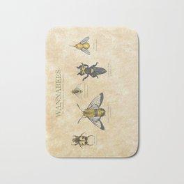 wannabees: Bee Mimicking Inects Bath Mat