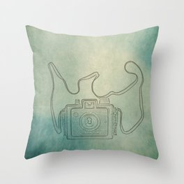 Camera Study no. 1 Throw Pillow