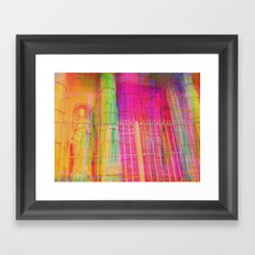 Multiplicitous extrapolatable characterization. 17 Framed Art Print
